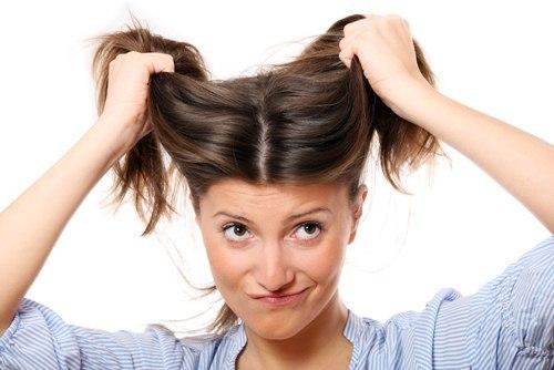 pull hair
